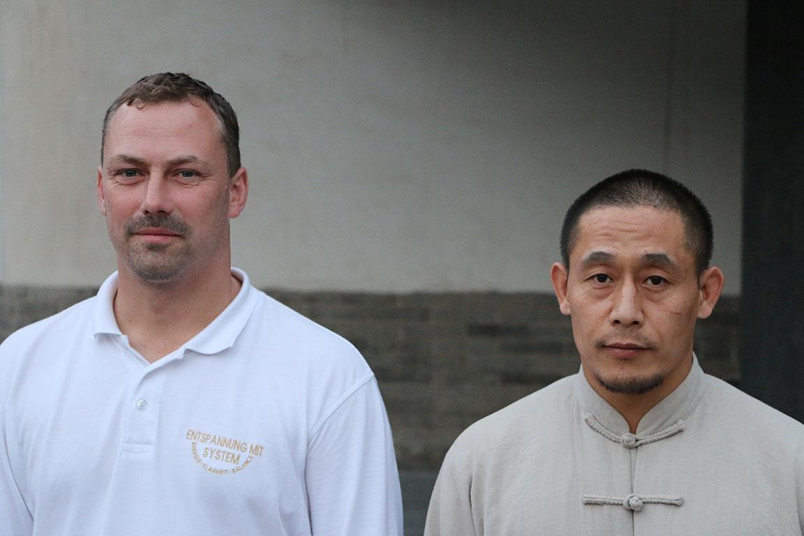 Mirko Lorenz und Meister Chen Ziqiang