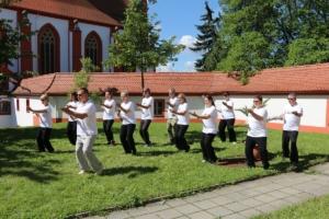 Impressionen vom Taijiquan Workshop im Kloster St. Marienstern